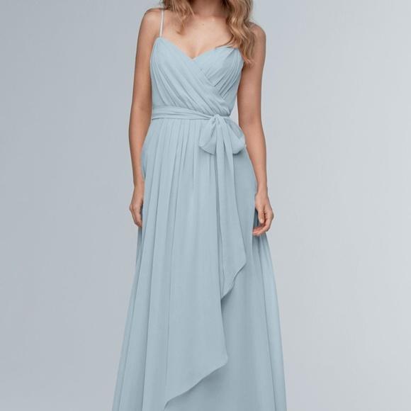 0fdd30900927 Wtoo by Watters Dresses | Light Blue Style 102 | Poshmark